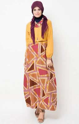 Permalink to Contoh Model Baju Muslim Gamis Terbaru Untuk Hari Raya