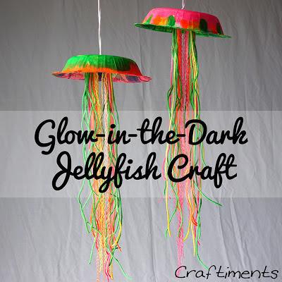 Glow in the Dark Jellyfish Craft Tutorial