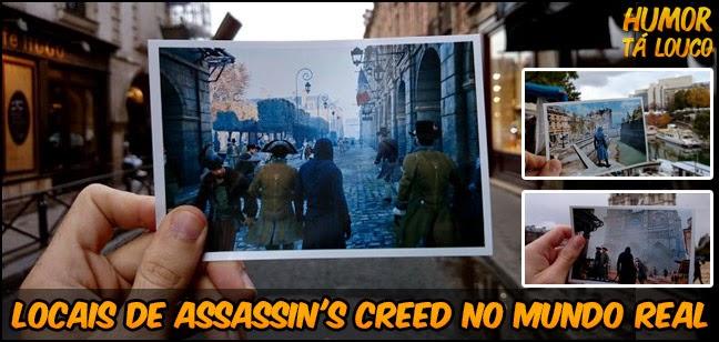 Lugares  Assassin's Creed - Comparação