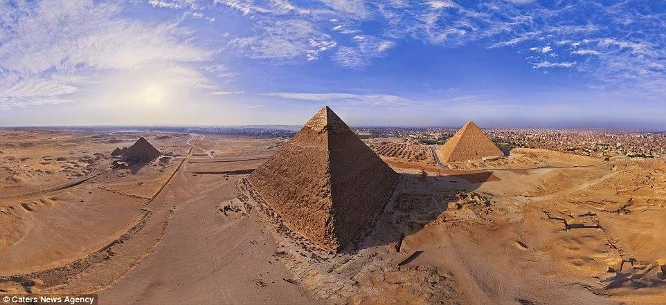 Piramid-Piramid Mesir