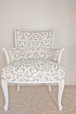 Fresh and Sweet Arm Chair Redo