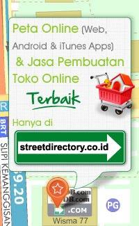 Peta Online dan Jasa Pembuatan Toko Online