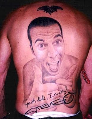 Tatuaje de Steve O