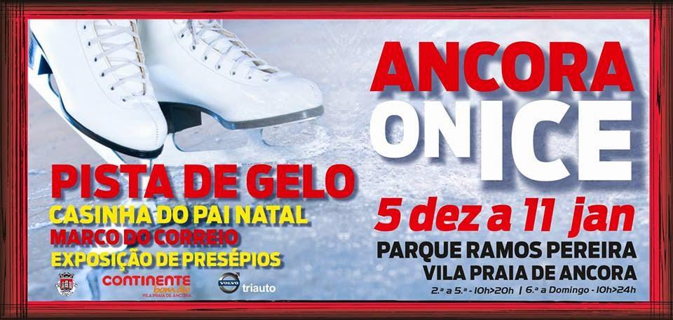 Âncora on Ice - A pista de gelo em Vila Praia de Ancora