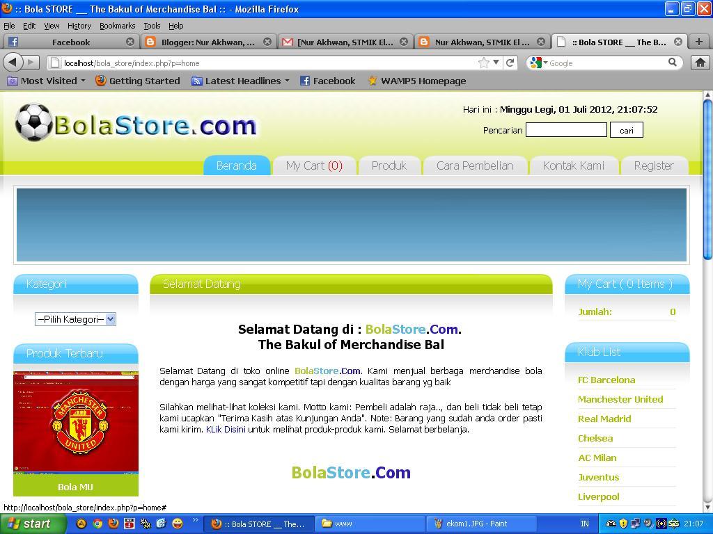Buat Website Toko Online Murah, Script Ecommerce