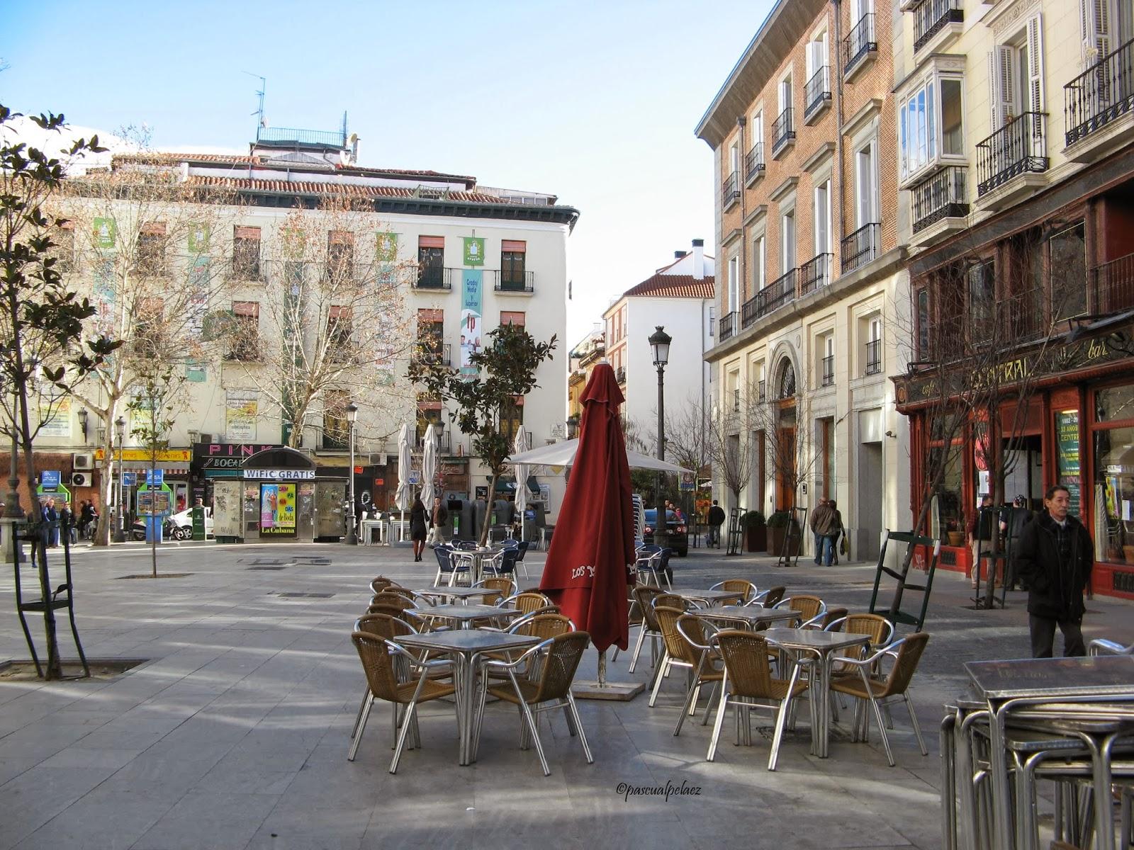 Rincones ibericos madrid plaza del ngel espa a for Discoteca plaza de los cubos madrid