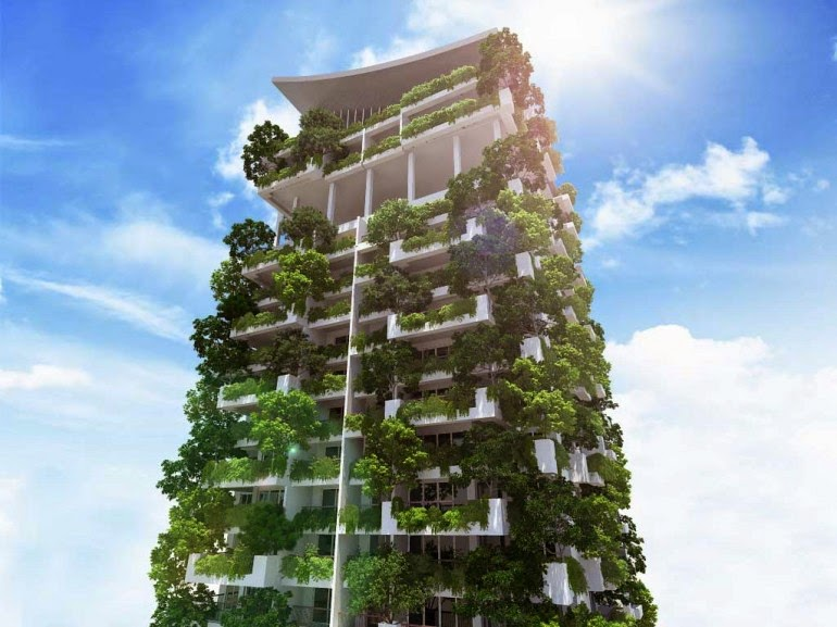 ... Indoor Garden · It Is Claimed That The Building Will Be The Tallest  Residential Vertical Garden In The World ...