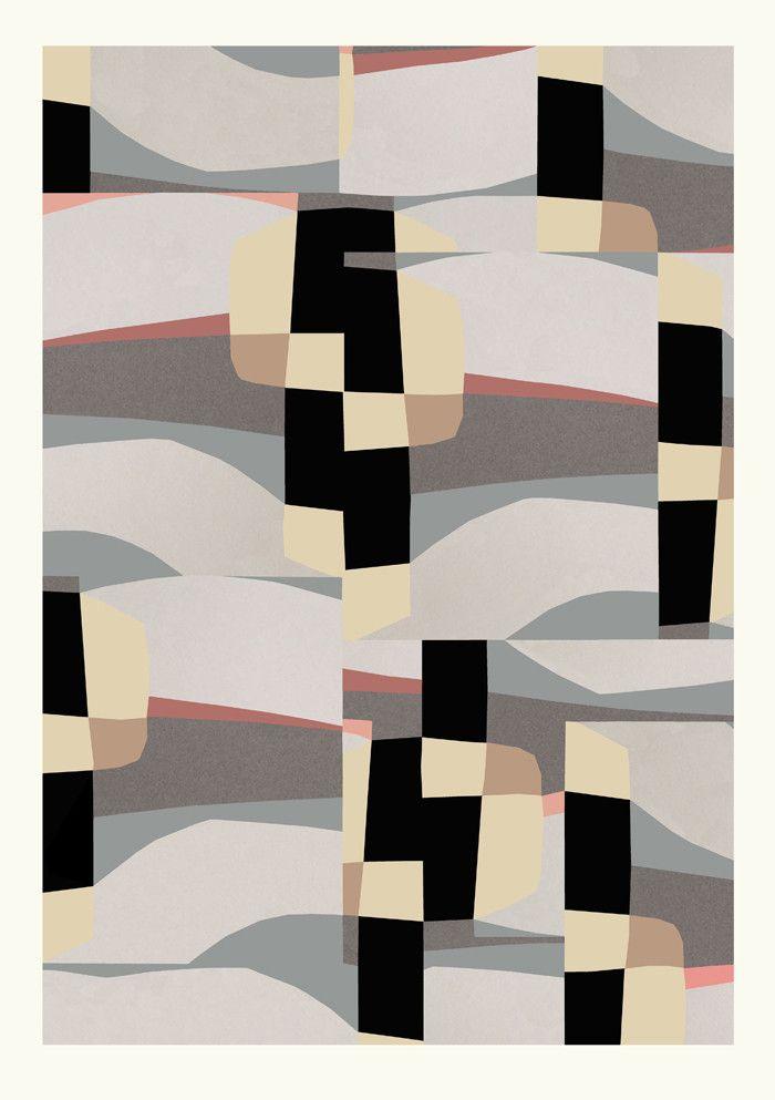 Kunst print af Berit Mogensen Lopez hos butikken Stilleben