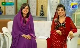 Uzma Al Karim and Natasha Ali
