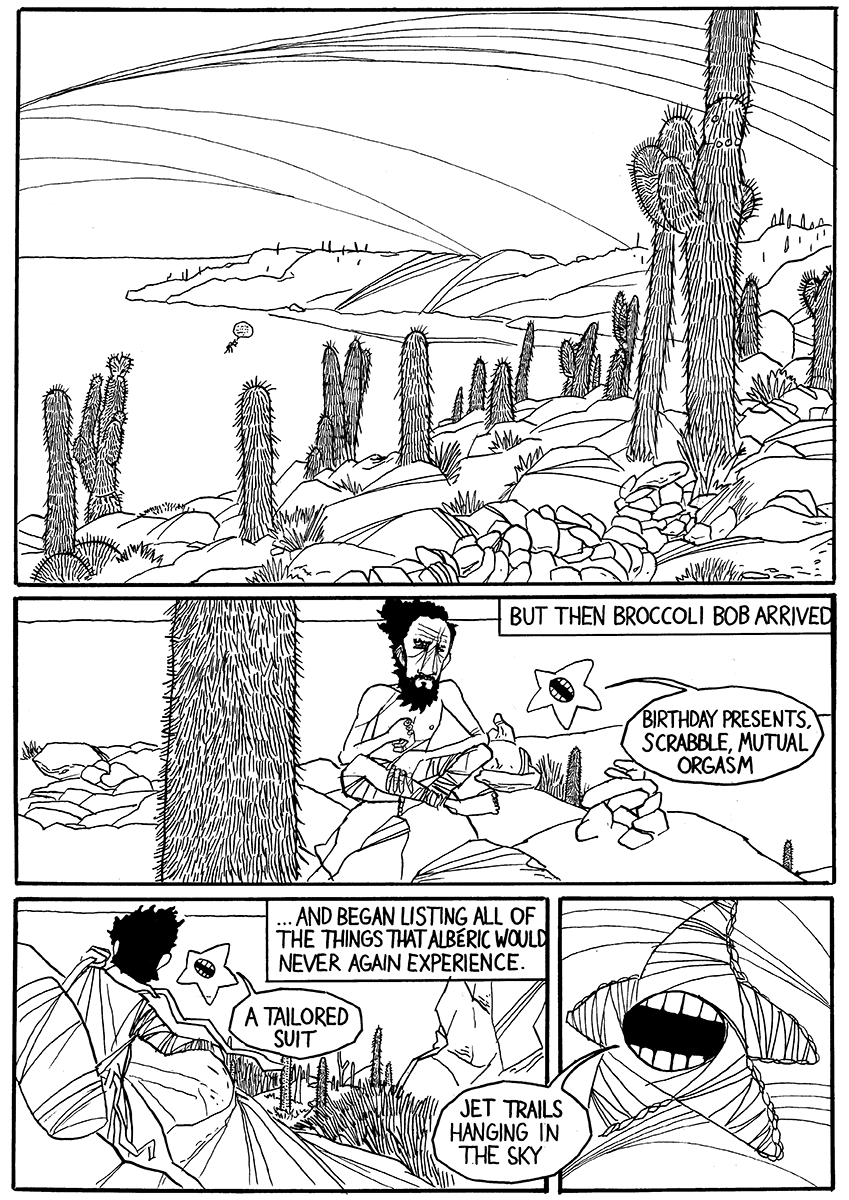 Last Man on Earth comic