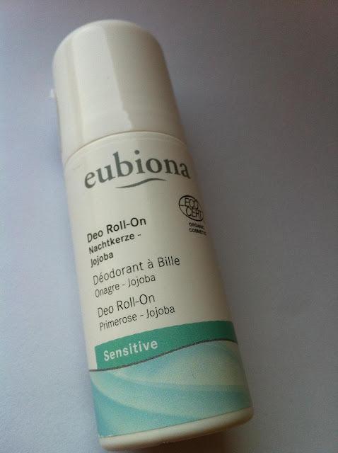 Eubiona Sensitive Dezodorant Roll -On z wiesiołkiem i jojobą - Recenzja