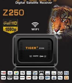 Atualizacao do receptor Tiger Z250 HD V36.97