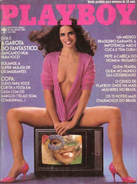Confira as fotos da garota fantástico Cristina Valença, capa da Playboy de maio de 1982!