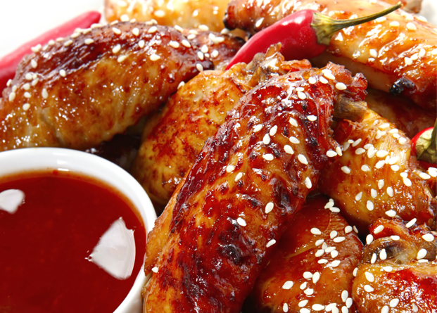 Sticky Sesame Chicken Wings Recipe