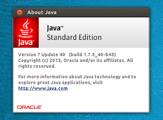Oracle Java 7u40