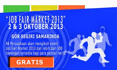 Jobs Fair Market Oktober 2013 Samarinda