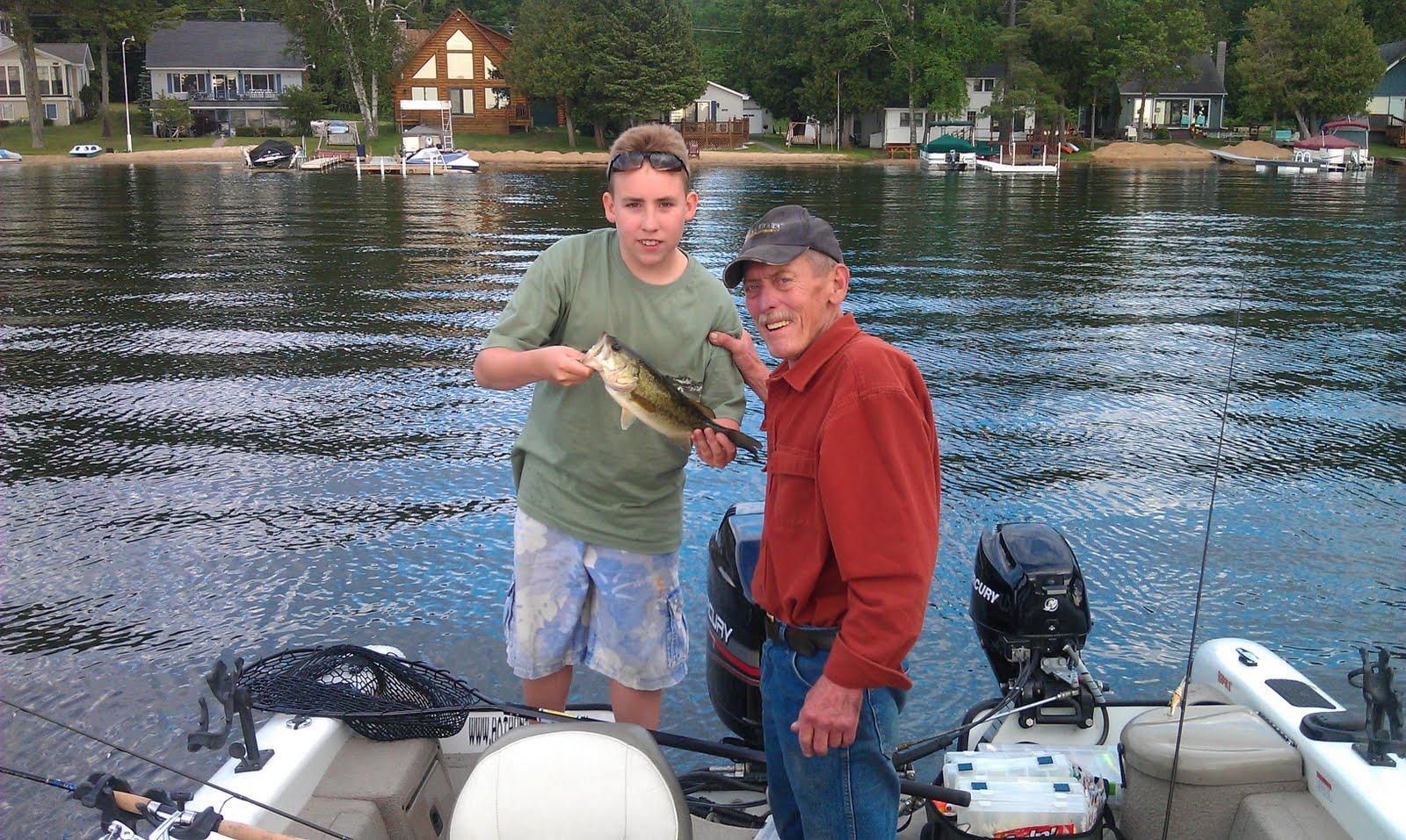 Houghton lake walleye report pratt lake 6 13 11 for Enid lake fishing report
