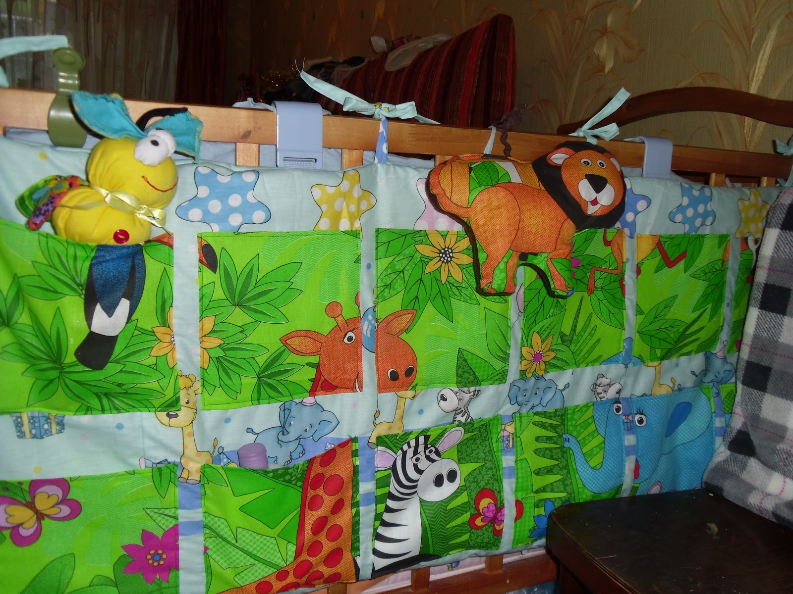 Карманы для детской кроватки своими руками фото и чертежи