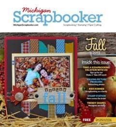 Michigan Scrapbooker Magazine-Spring 2013