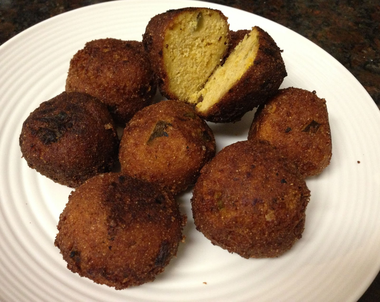 Jalapeno-Goat-Cheese Hush Puppies Recipes — Dishmaps