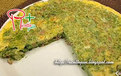 Frittata Broccoli e Salsiccia di Cotto e Mangiato