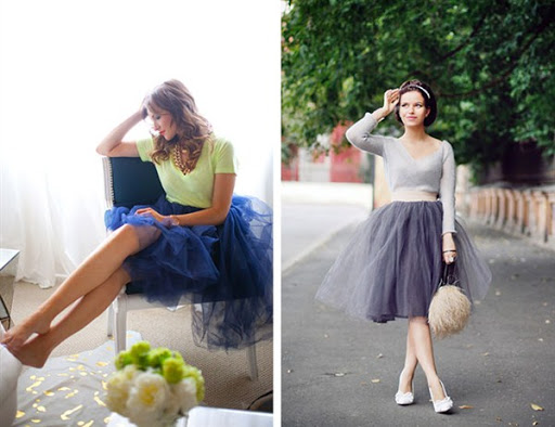 top tulle skirts trends for 2016/2017