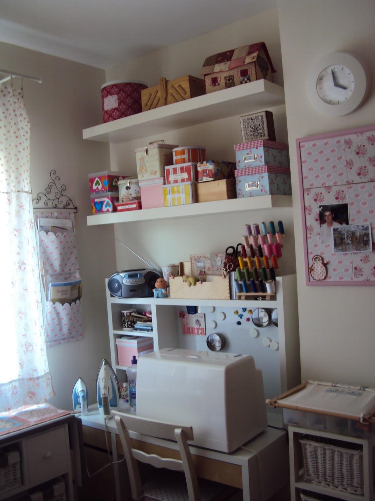 Mercedes y sus muñecas, manualidades, etc ...: Mi cuarto de costura
