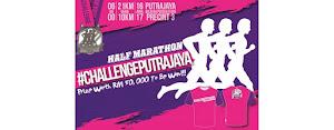 Challenge Putrajaya Half Marathon 2017 - 16 April 2017