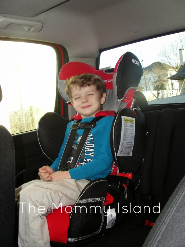 The Mommy Island: Room To Grow With RECARO Performance Sport Booster ...