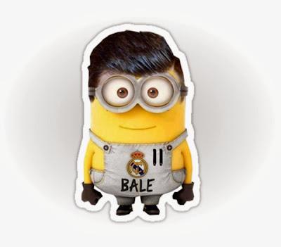 Minion Gareth Bale Real Madrid - Futbol Parodia