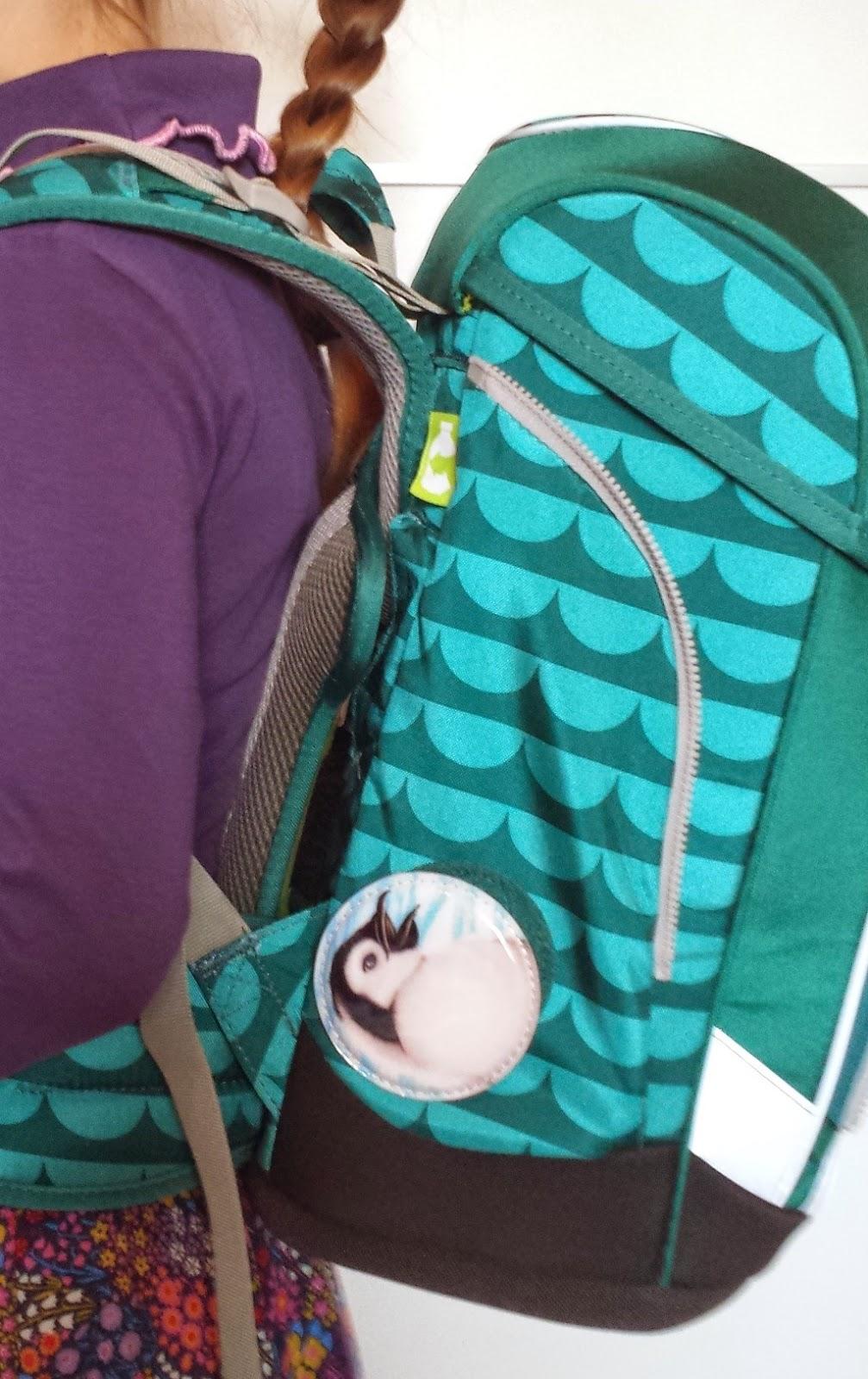 Ergobag cubo getragen