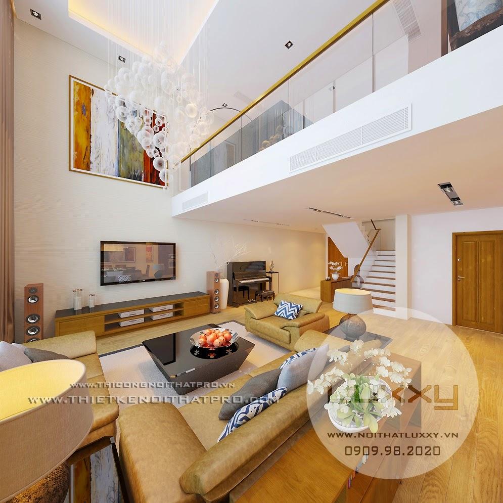 Thiết kế nội thất căn biệt thự đẹp