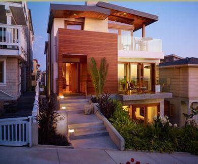 Fachadas de casas fachadas de casas estilo minimalista for Estilo de casa minimalista