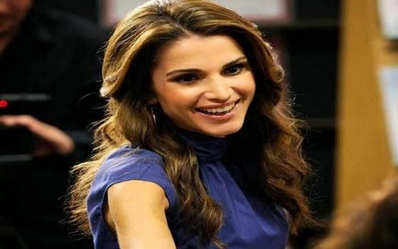 9. Rania Al Abdullah (Yordania)