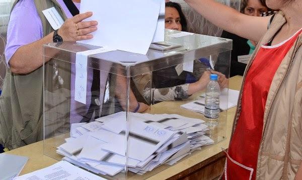 При парламентарни избори днес ГЕРБ води на БСП с 8,2%