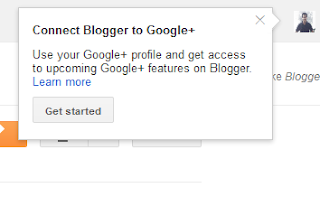 Connect Google+ To Blogger