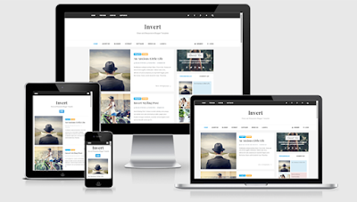 Invert Responsive and SEO Friendly Blogger Template