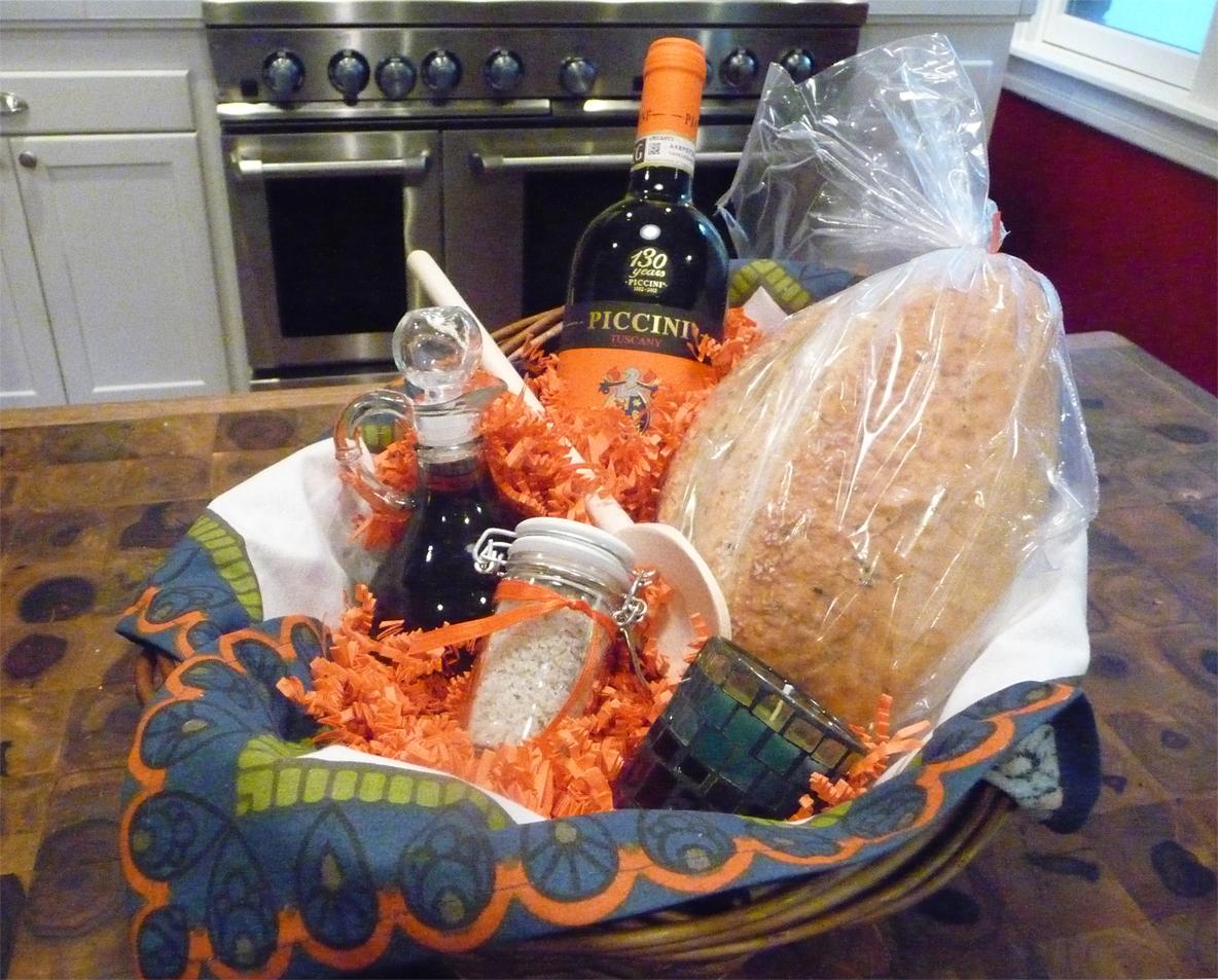 Recipe ~ Italian Housewarming Basket
