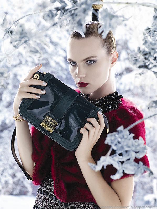 Carla Danelli otoño invierno 2014 modaen carteras y zapatos invierno 2014.