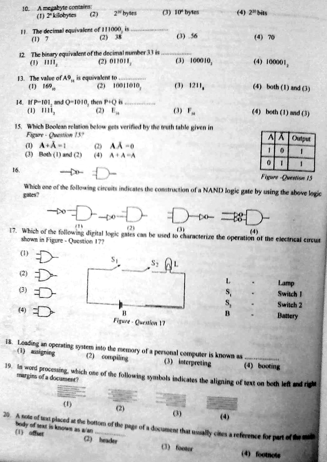 ict past paper Grade 10 classes 3වන this is a good social service to students and teachers who require past papers i appreciate your work sirthere,s only one paper in.