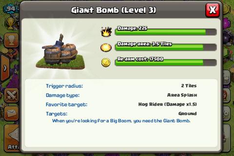 giant bOmb lvl3