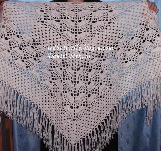 Knitting Patterns For Rectangular Shawls : free knitting pattern: new rectangular knitting shawl patterns