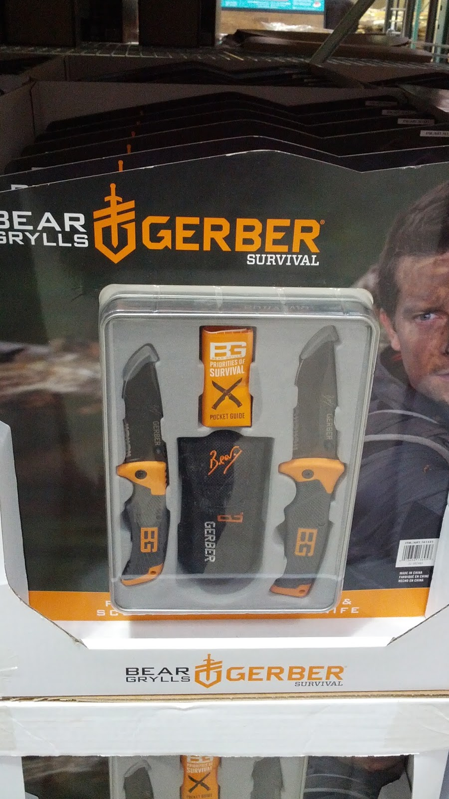 be like bear grylls with the gerber bear grylls survival knife gerber bear grylls 2 piece survival knife set   costco weekender  rh   costcoweekender