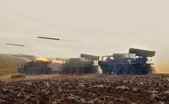 Artileri Korea Utara