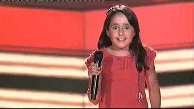 Sofía gaona-La Voz Kids
