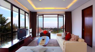 Villa Bandung ada Kolam Renang