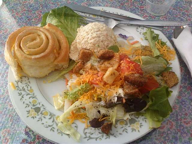 Crumpet Tea Room Chicken Salad Recipe