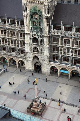 München Marienplatz Rathaus