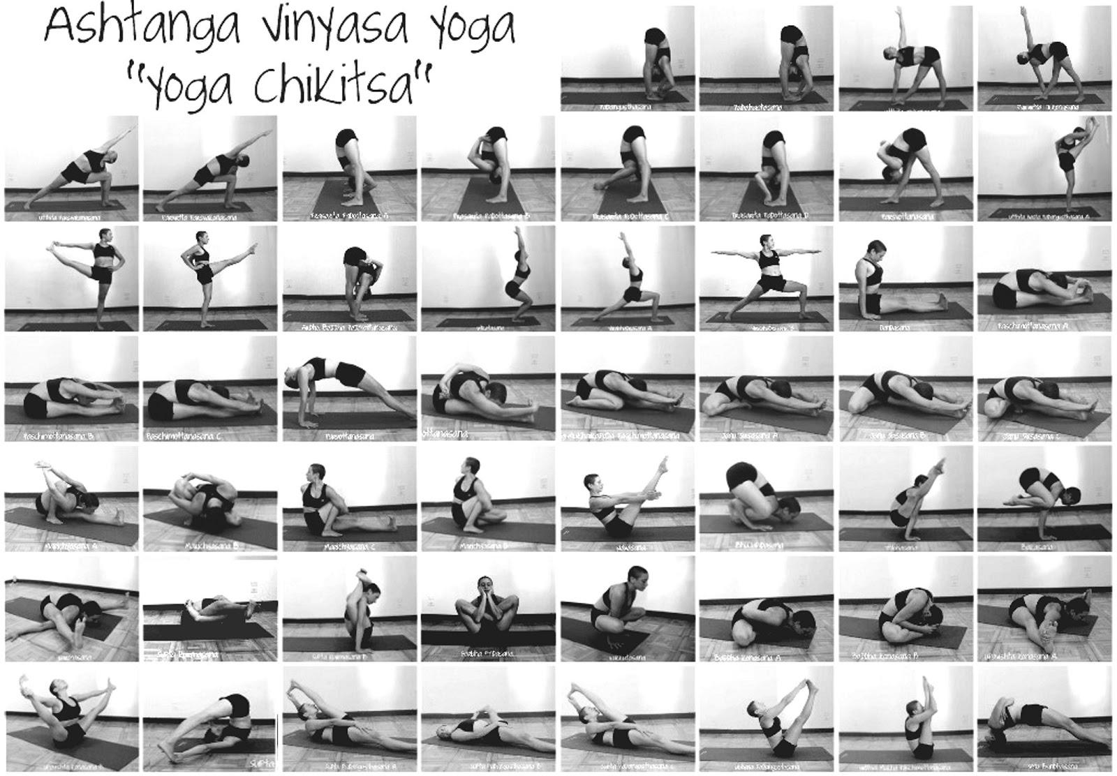 Ashtanga vinyasa yoga yoga chikitsa