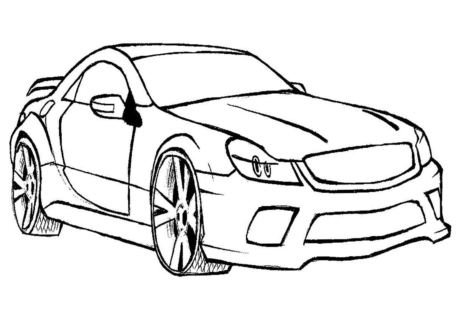 Desenhos de carros tunados, turbinados e hot wheels para